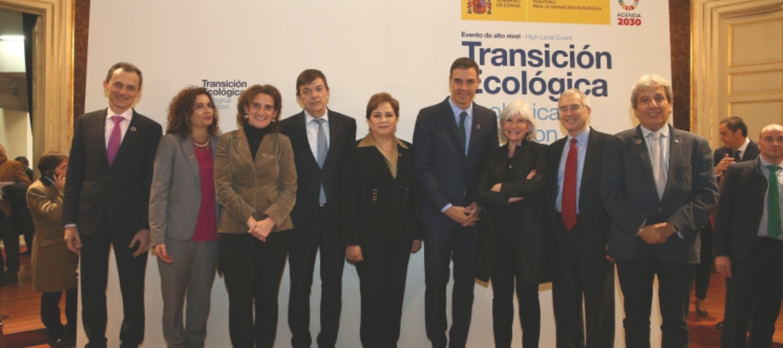 Evento de alto nivel transición ecológica, ODS, cambio climático